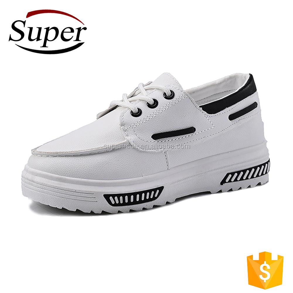 Black White Comfy Softwalk Shoes