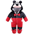 8 Styles Lovely Gift Baby Animal Infant Rompers Jumpsuits Newborn Baby Warm Costume Soft Winter Flannel