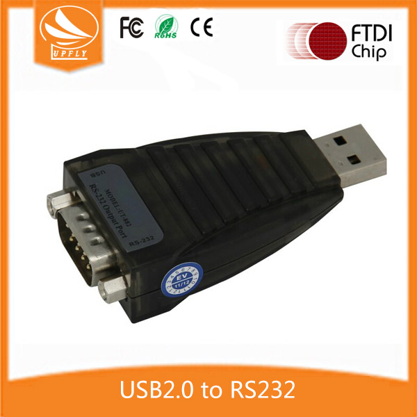High Quality Industrial FT232rl USB2.0 to DB9m RS-232 Converter