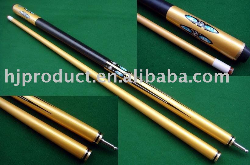 Fashion Elegant Canadian Maple 2pc 1pc Snooker Cue Pool Cue