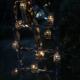 new product ideas 2019 Noma Lights Lantern Pendant Light Novelty Metal Lantern Led String Outdoor Led Tree Decor Light