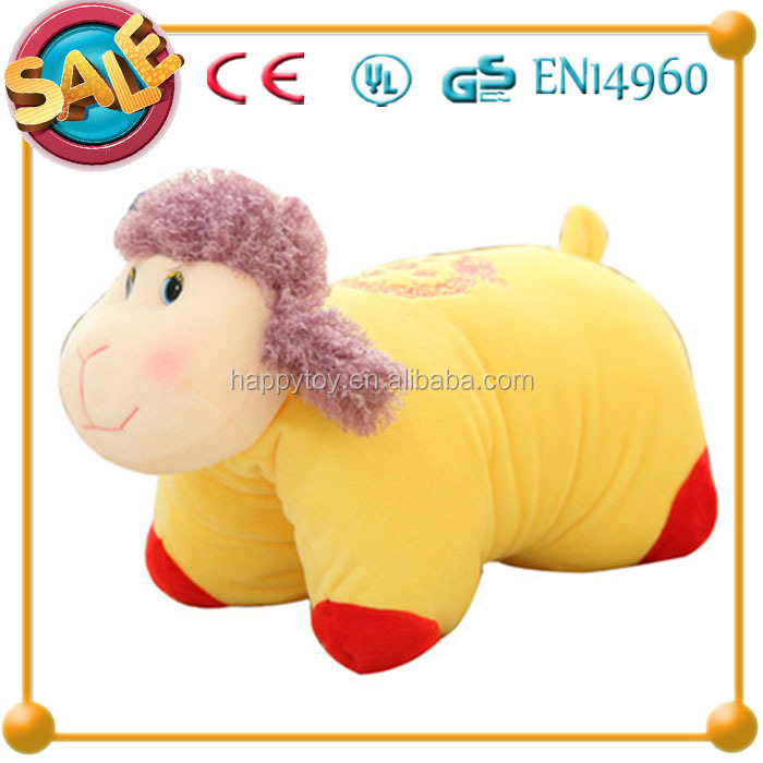 HI CE mascot stuffed goat plush toy,2015 Chinese new year goat toy, soft plush