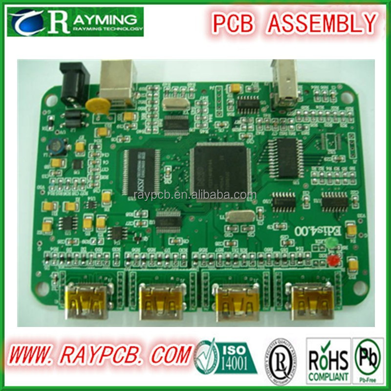 4k High Resolution Rugged TFT LCD Image Control Board with Dp, USB