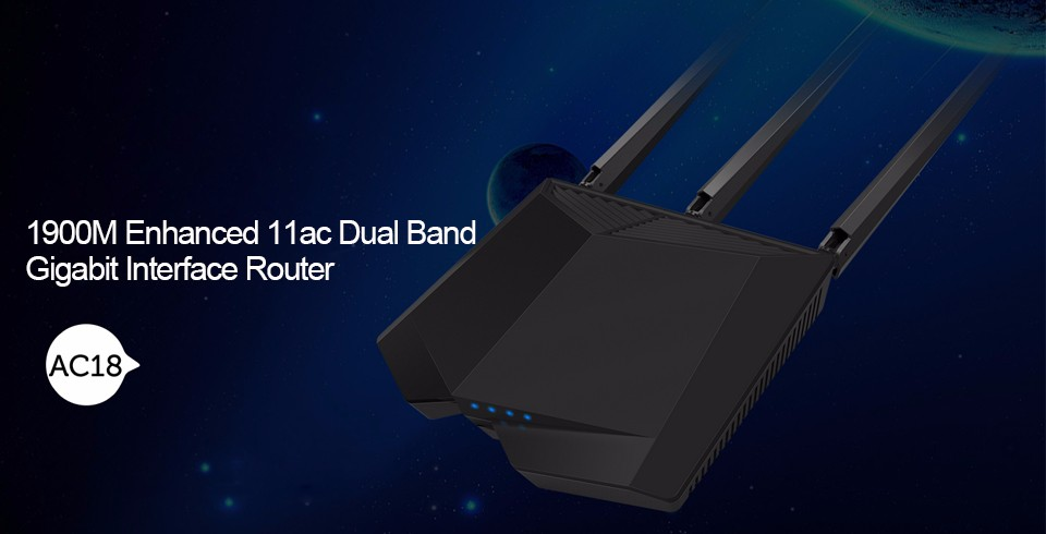 Detail Feedback Questions about Tenda AC18 1900Mbps Dual