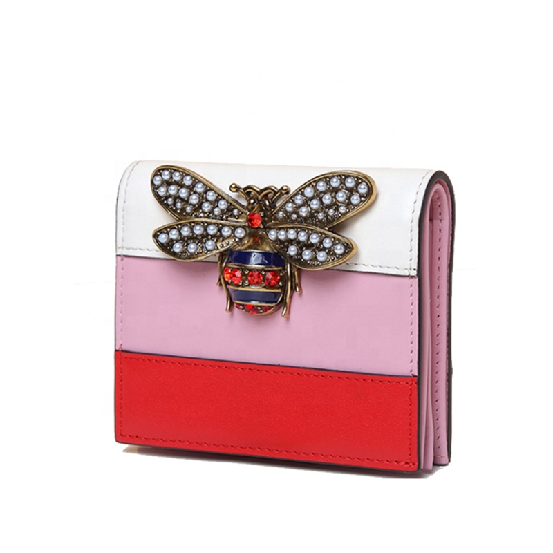 Experienced Manufacture Custom Leather Ladies Top 10 Card Holder <strong>Wallet</strong>
