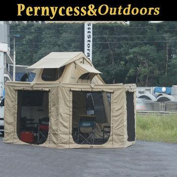Foldable Waterproof Top C&ing Car Roof TentC&ertrailer with roof top tentNew Easy & Foldable Waterproof Top Camping Car Roof TentCampertrailer With ...