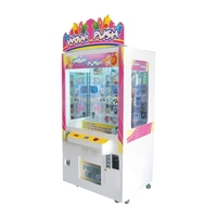 Indoor Win Push Coin Operated Arcade Prize Vending Game Machine Claw Crane Machine for Sales
