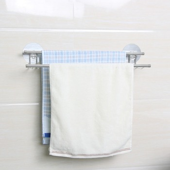 Factory Bathroom Towel Hanger Rail Shampoo Shelf For Wash Basin