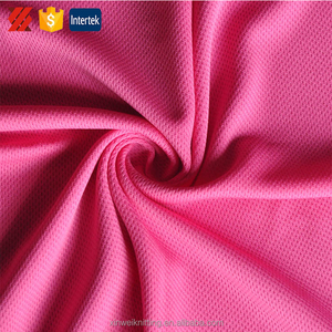 Dry fit and waterproof cheap polyester blend material clothing fabric stores