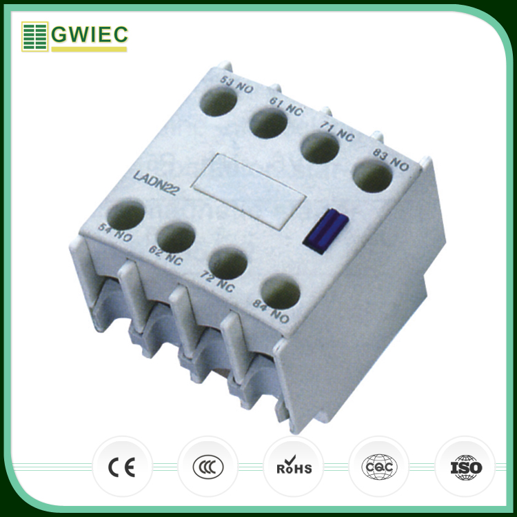 GWIEC Hight Quality Products AC Auxiliary Contact Blocks LA1-D Series Contact Group