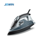 full function steam electric press iron with rubber handle