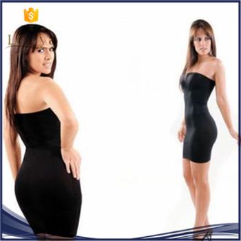 6e8cba2c4dc5b Ladies Seamless Slimming Full Body Shaper Tube Top Firm Strapless Dress