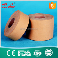 skin or white color cotton fabric sport tape for 3.8x13.8m