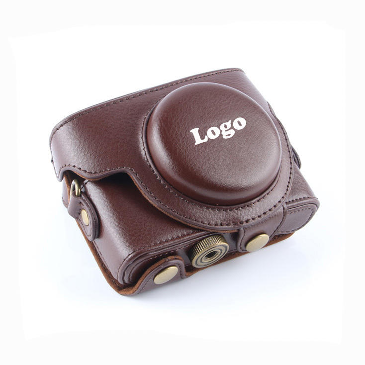 Free Shipping Coffee New Camera Leather Case Bag For Sony DSC-RX100II RX100 II RX-100M3 RX100M2 RX100III RX100IIII RX100 M4