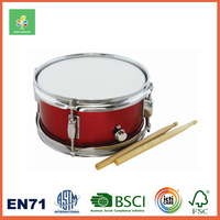 Kids Marching Snare Drum with 2 Mallets and Shoulder Straps 6'' x 8''