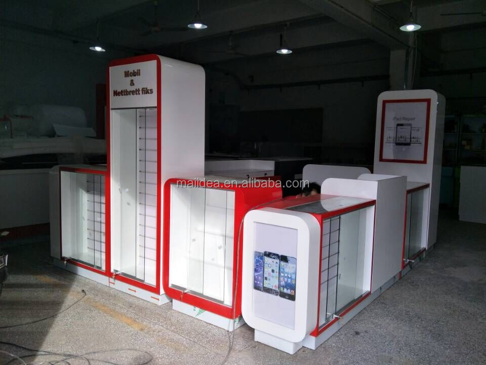 Phone store furnitures Mobile phone accessories kiosk for sale