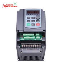 Vmaxpower Digital display single phase 5.5KW 7.5HP 3 phase solar pump inverter with mppt and vfd
