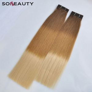 Wholesale Cuticle Remy Hair Extension Human Hair Blond