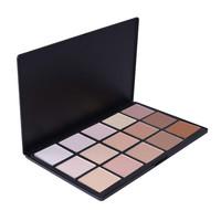 Pressed powder makeup 15 color contour face powder and blush palette