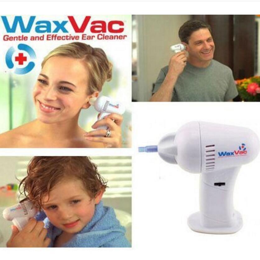 WAXVAC VACUUM EAR CLEANING SYSTEM CLEAN EAR WAX VAC AS ... Ear Wax Removal As Seen On Tv