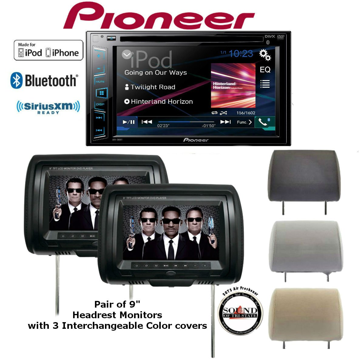 Cheap Pioneer Double Din Dvd Find Deals On Avh P3100dvd Firmware Update Get Quotations 280bt In Dash Receiver W Built Bluetooth