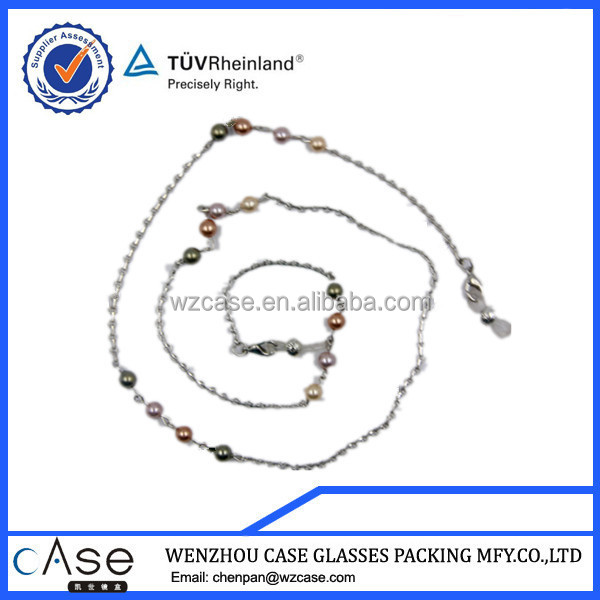 WZ Pearl beaded eyeglasses chain E94