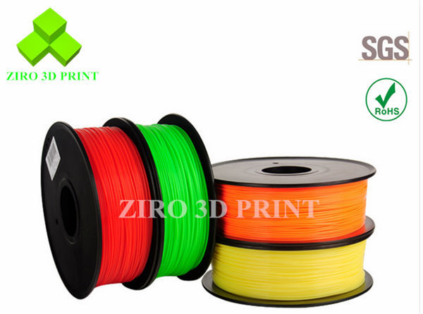 ZIRO 3D Filament for 3D Printer 1.75mm PLA filament ABS filament
