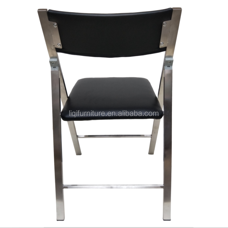 New Style Hot sale Stainless Steel Folding Chair For Meeting Conference Training  Seminar Study Banquet School Office