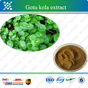 Gotu Kola Extract, also called Herba Centellae extract, Asiaticoside 10%~90%, Total Triterpenes 10%~80%