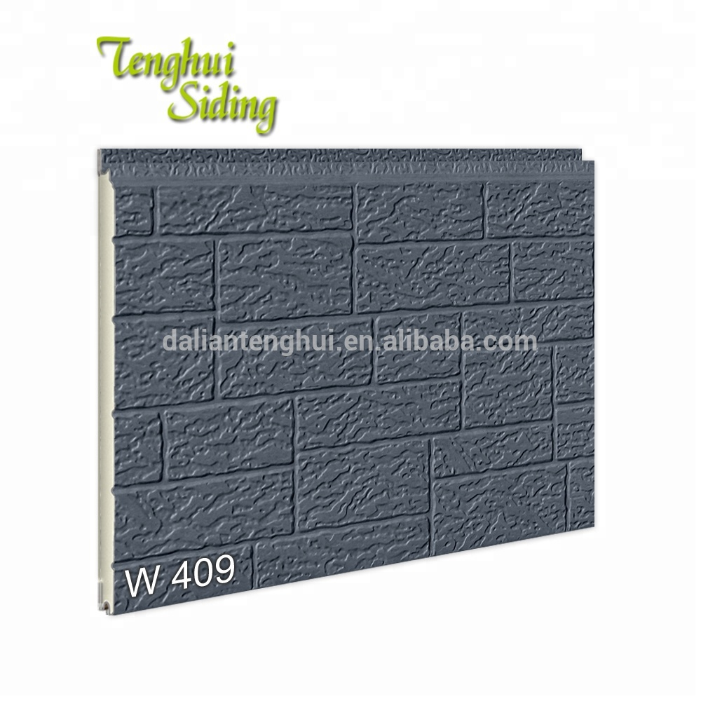Decorative pu sandwich panel imitation brick exterior building <strong>material</strong>