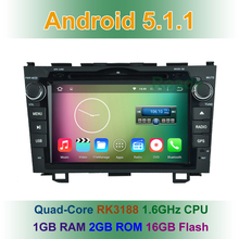 HD Quad-Core Android 4.4.4 Car DVD Player GPS for Honda CRV CR V 2006 2007 2008 2009 2010 2011 with BT Wifi 3G Radio Mirrorlink