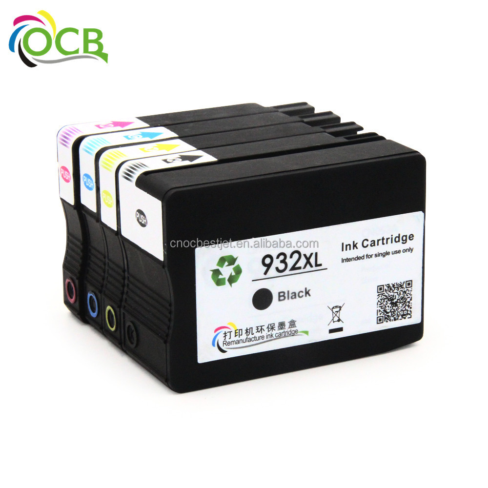 For HP 932 933 Ink Cartridge Full With Ink For HP Officejet 6100 e Printer - H611a Printer Ink Cartridge