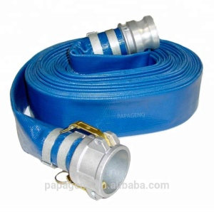 Heavy Duty Lay Flat Pool Discharge and Backwash Hose for Pumps and Water Transfer Applications