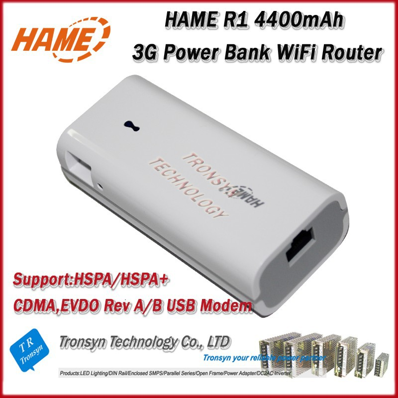 New 4400mAh Original HAME 3 in 1 MPR-R1 150Mbps Portable 3G WiFi Router Power Bank And MINI 3G WIFI Router,(Better than A1)