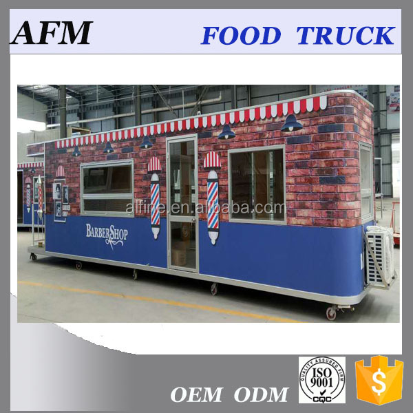 2017 popular high quality outdoor street food kiosk
