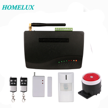stable and high quality 8/16 wireless zones and 3 wired zones wireless GSM burglar alarm system
