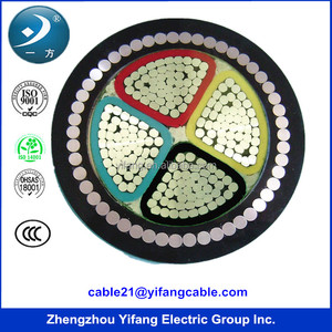 Cable manufacturer 1.8/3kv power cable with aluminium conductor