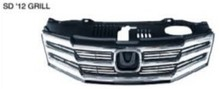 For honda city 2012 front rear bumper/front grille/rear bumper chin