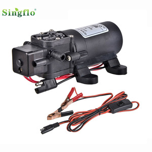 Singflo 12v dc 35psi electric diaphragm water pump/mini battery water pumps/car wash water pumps