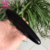 wholseal obsidian massager black stone massage stick wand
