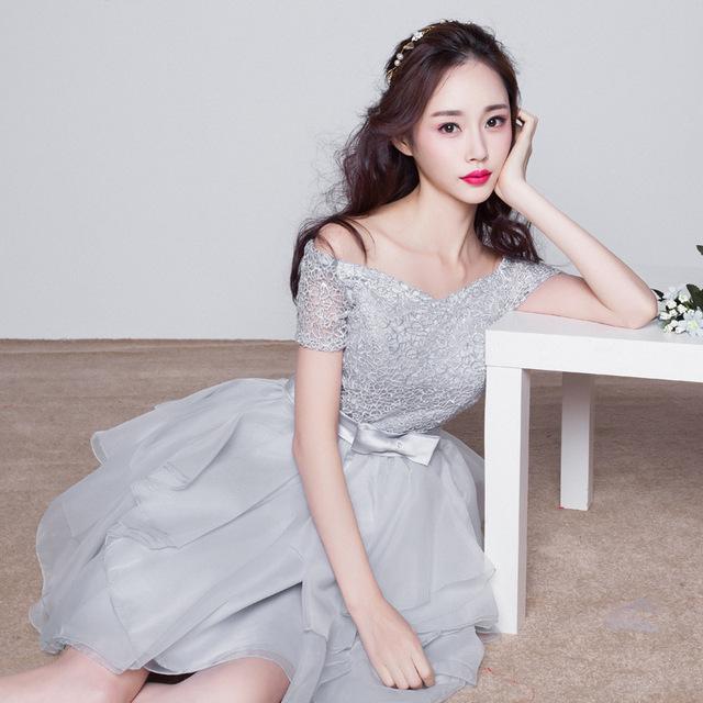 Werbung grau hochzeitskleid, grau hochzeitskleid Kaufen Sie ...