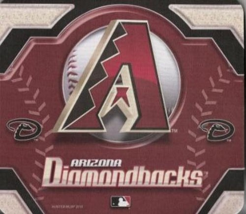MLB Arizona Diamondbacks Team Logo Neoprene Mousepad
