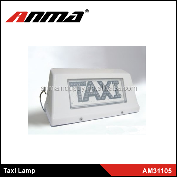 Waterproof LED Light White Taxi Cab Lamp