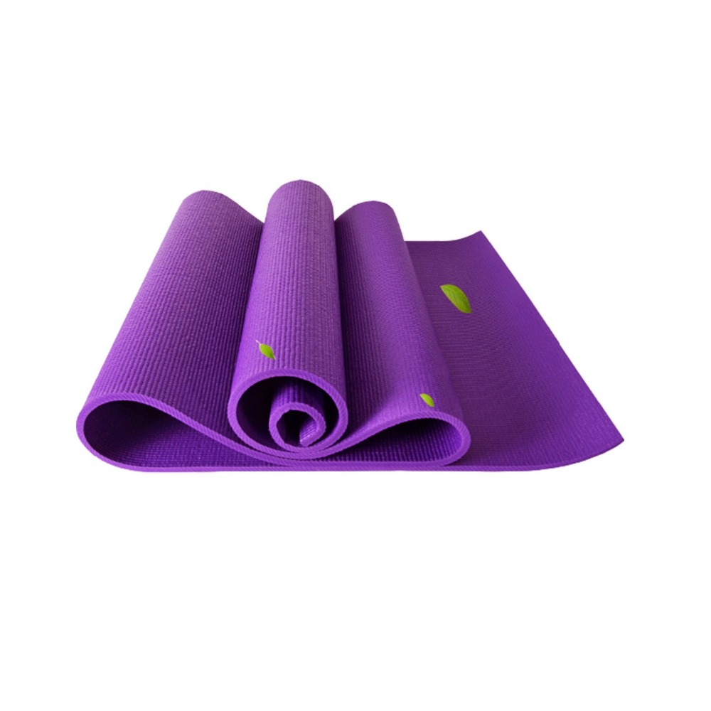 JUFIT 6MM PVC Fitness Gym Exercise Yoga Mat