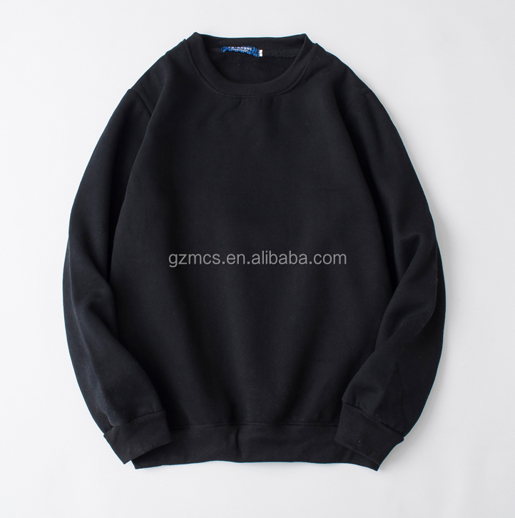 Logo customized printed and embroidered hoodies and sweatshirt without hood