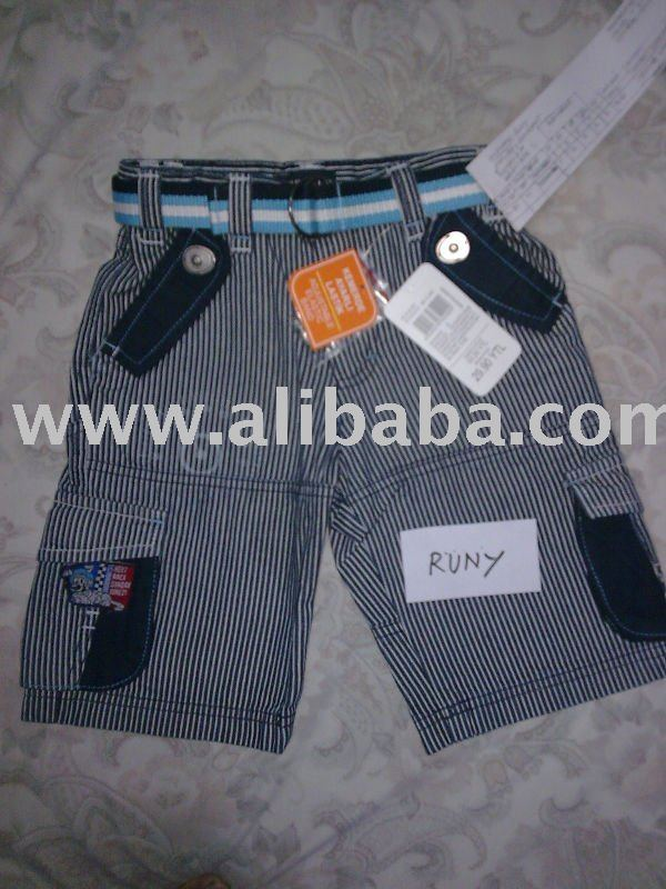 Boy's Cargo Shorts with Belt --- Style - 06 Name - RUNY (Qty-4220 pcs)