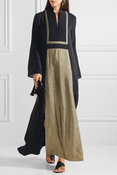 2016 Ladies Silk Dubai Moroccan Abaya Kaftan Maxi Dress HSK2776