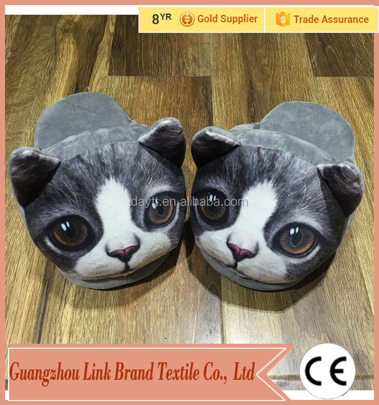 3D Fun High Quality Non Slip Adult Animal Slipper