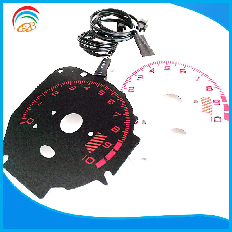 New Arrival Best Quality Energy Saved Panel El Sheet Car Meter With Multi Color