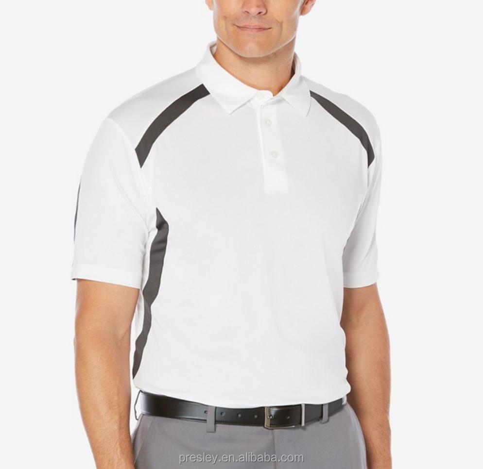Presley Garment Polo Shirt Design With Combination Color 220gsm